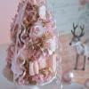 ピンクのリボンフラワーツリー